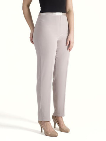 Mink Pull On Stretch Trouser