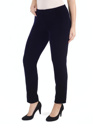 Midnight Stretch  Velvet Trouser