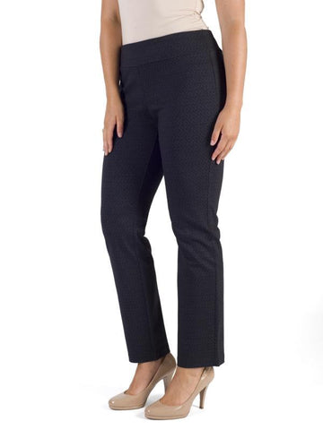 Midnight/Charcoal Basket Weave Trouser