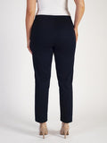 Navy Stretch Cotton Trouser