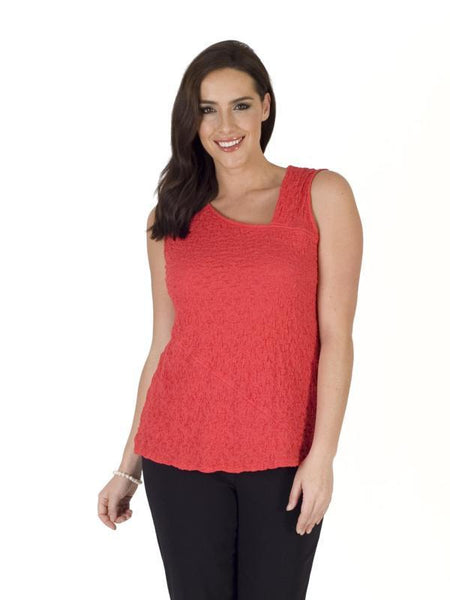 Coral Asymmetric Bubble Top