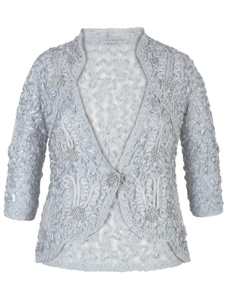 Aqua Cornelli Emb. Lace Jacket - New Delivery Early April