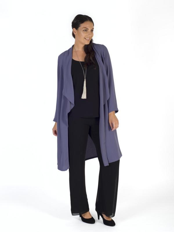 Hyacinth Crepe Coat