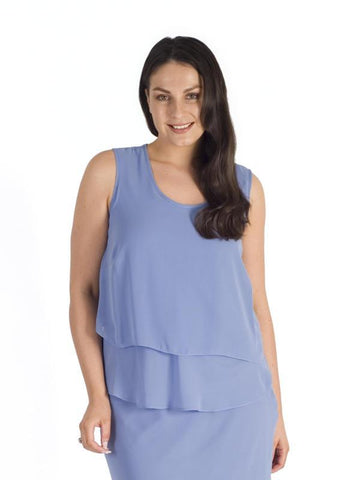 Bluebell Wrap Back Layered Camisole