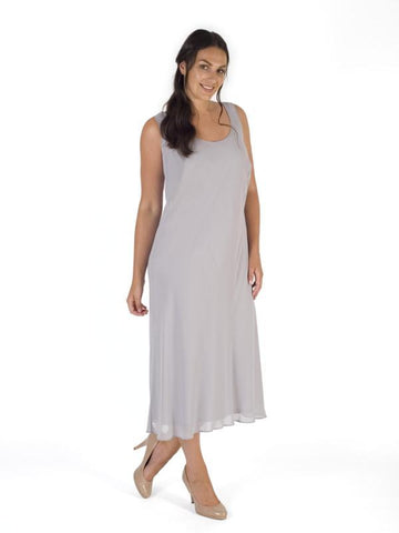 Dove Chiffon Dress