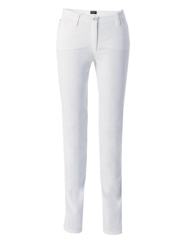 Michele White Magic Soft Cotton Jean Short