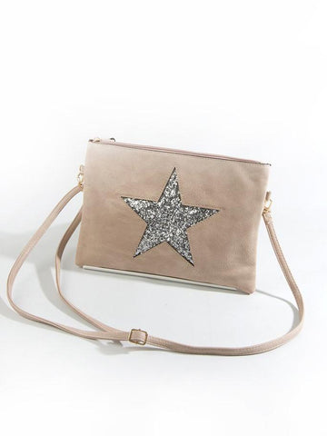 Dusty Pink Star Bag