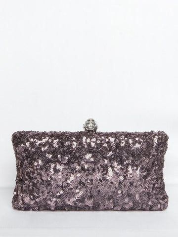 Sequin Bag Pewter - SALE!*