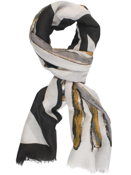 Black Multi Scarf