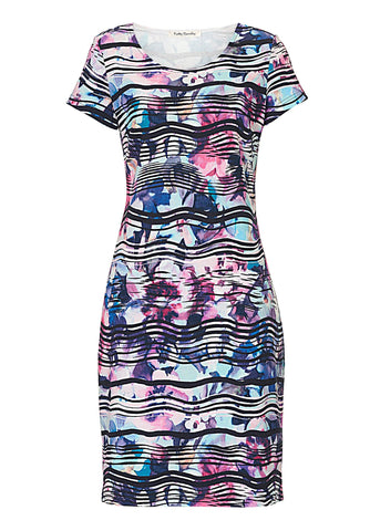 Betty Barclay Multi Floral Print Dress