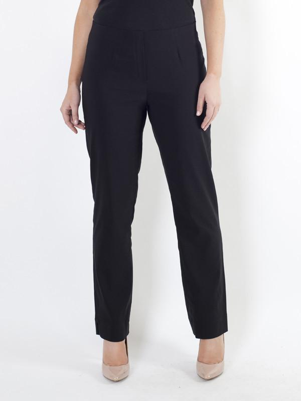 Black Slim Stretch Trouser