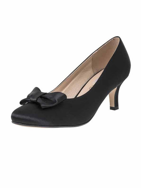 "Black ""Marilyn"" Ladies Shoe"