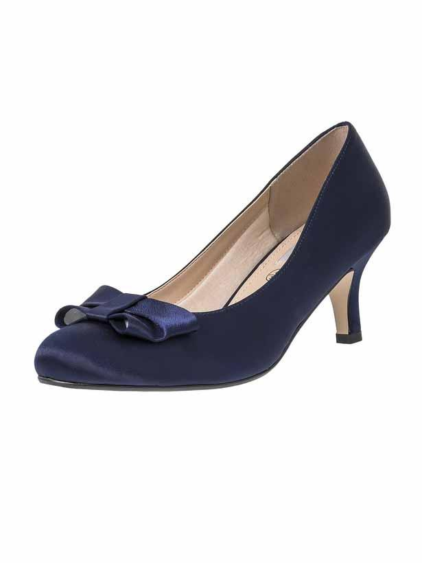 "Navy ""Marilyn"" Ladies Shoe"