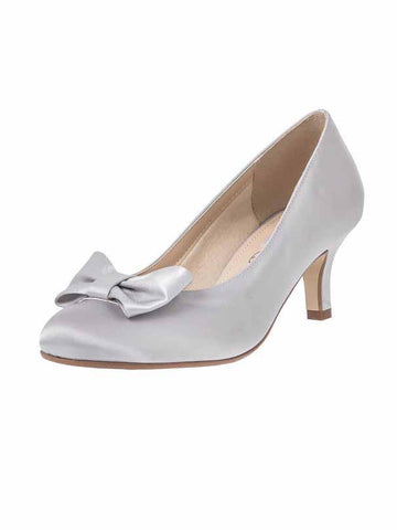 "Grey/Silver ""Marilyn"" Ladies Shoe"
