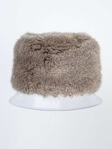 Chinchilla Faux Fur Kossack Hat H81Y191 alt1