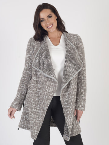 Taifun Chunky-knit Coatigan