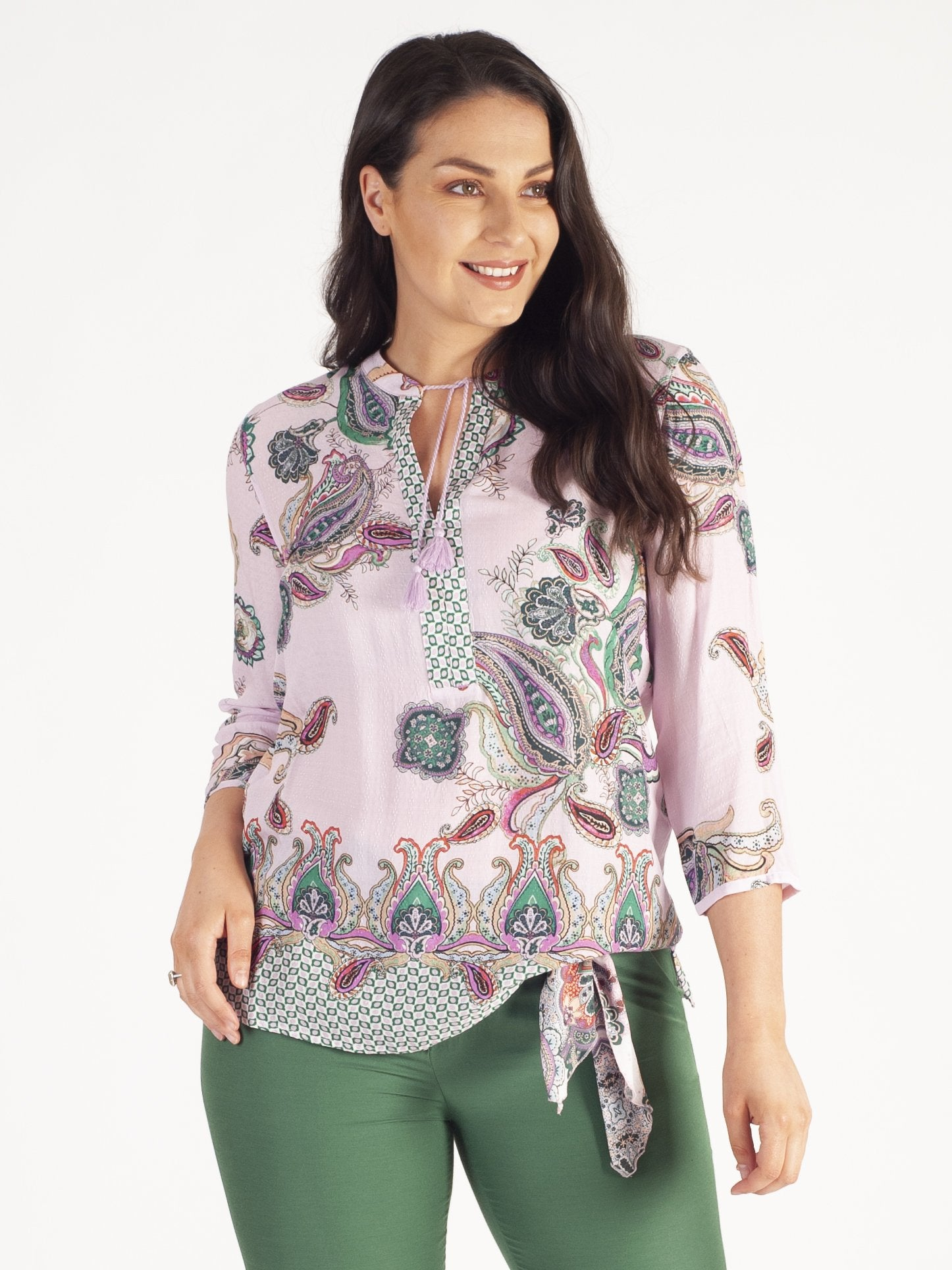 Gerry Weber Lilac Paisley Print Tunic