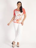 Betty Barclay Butterfly-print Jersey Top