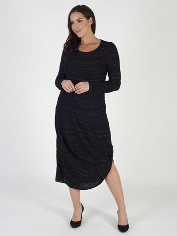Vetono Textured Jersey Dress