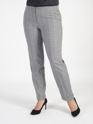 Basler Checked Trouser
