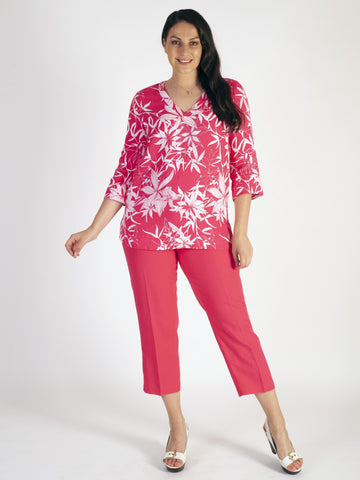 Gerry Weber Pink Crop Trouser