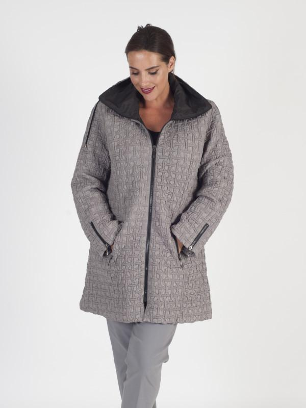 Pebble Hooded Mini Bonfire Coat