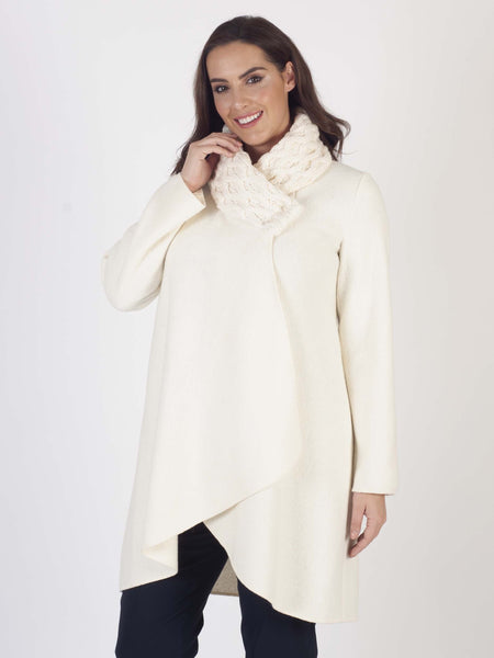 Ivory Arran Collar Coat