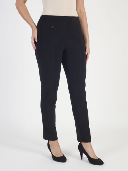 Joseph Ribkoff Black Jersey Trouser- Pre-Order For End of February