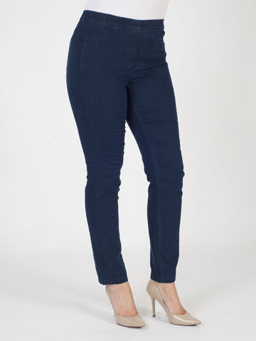 Frank Walder Easy Pull-on Denim Trousers