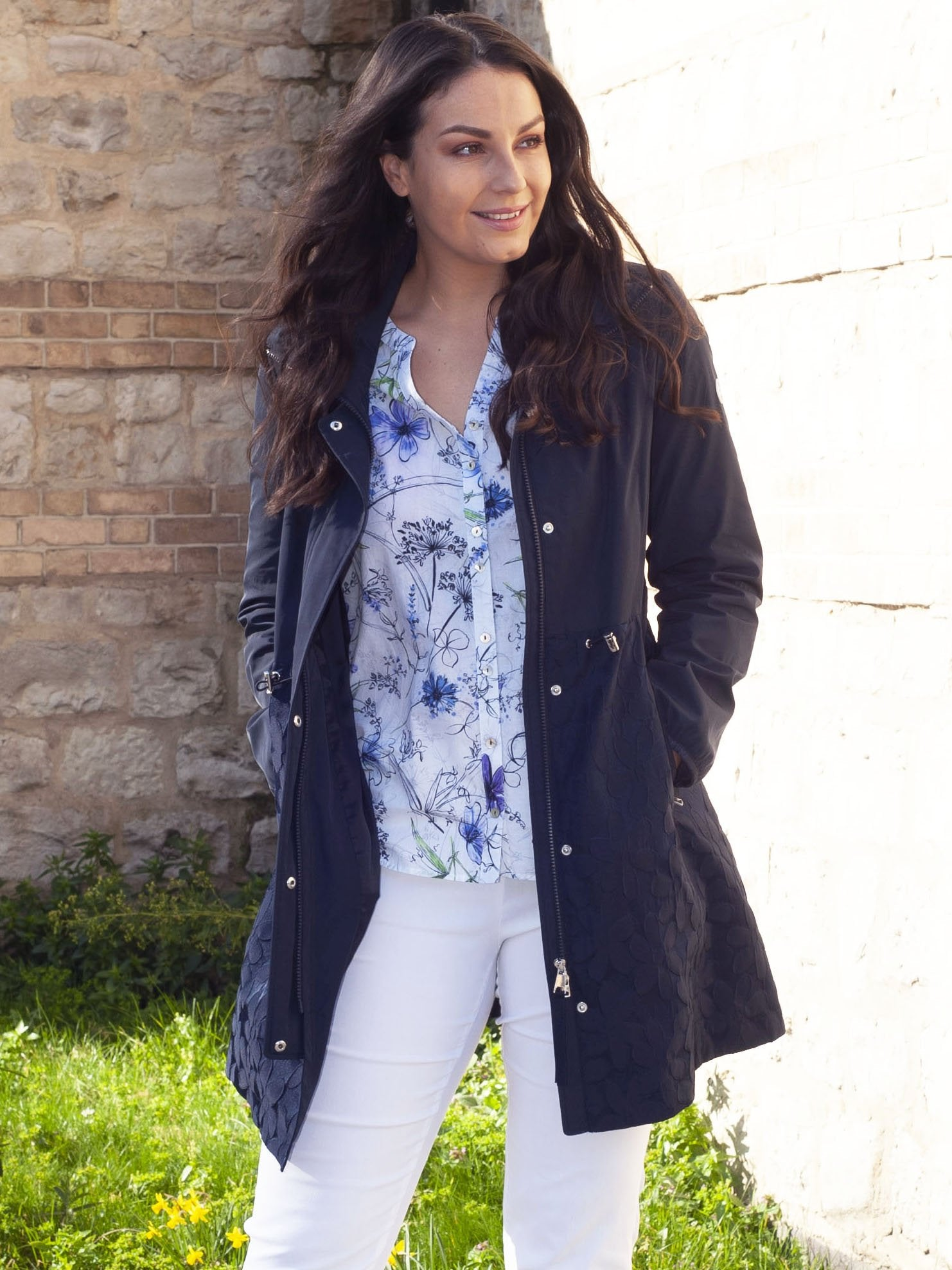 Gerry Weber Navy Casual Jacket