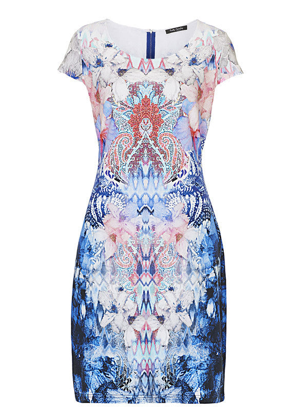 314c5c4e6585f Betty Barclay Printed Jersey Dress – Chesca