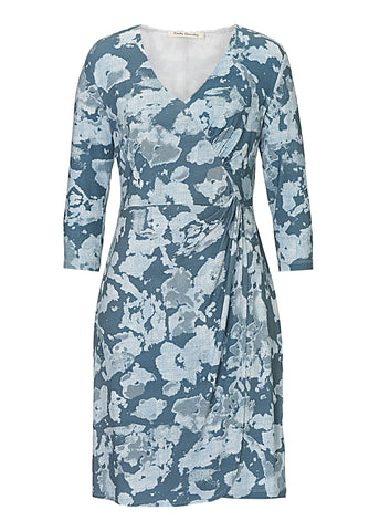 Betty Barclay - Blue Printed Jersey Dress