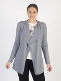 Betty Barclay Blue Longline Waterfall Cardigan