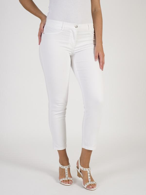 Betty Barclay - White Slim Fit Trouser