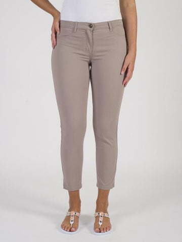 Betty Barclay - Taupe Slim Fit Trouser