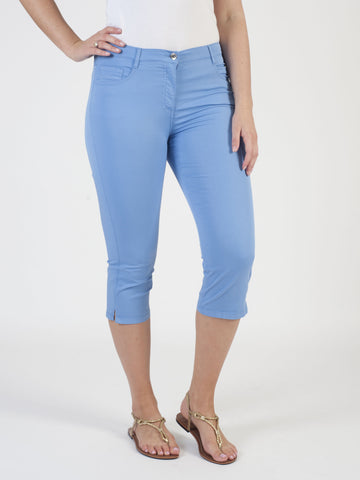 Betty Barclay Blue Cropped Jean