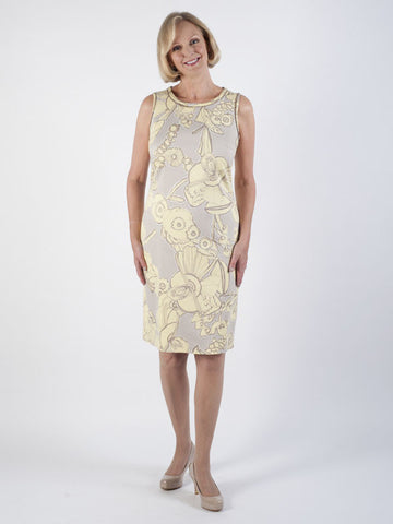 Bianca Lemon Flowers Dress