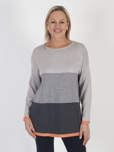 Calaluna Colour Block Jumper