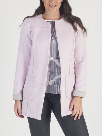 CONRAD C Pink Wool-mix Jacket