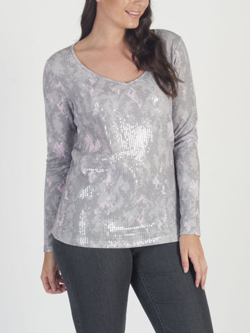 CONRAD C Sequinned Jumper