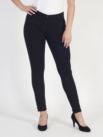 Gardeur Black Jersey Trouser- Regular