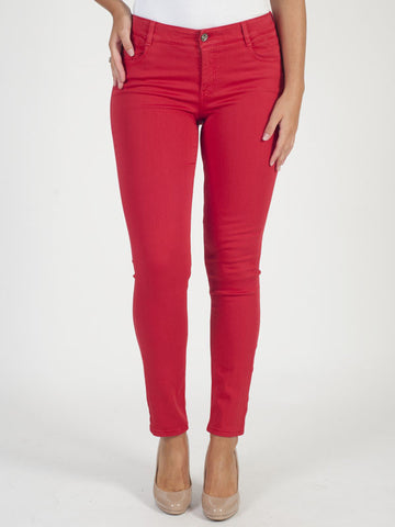 Gardeur Red 'Zuri' Denim Jean - Short
