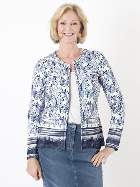 Gerry Weber Printed Jersey Jacket