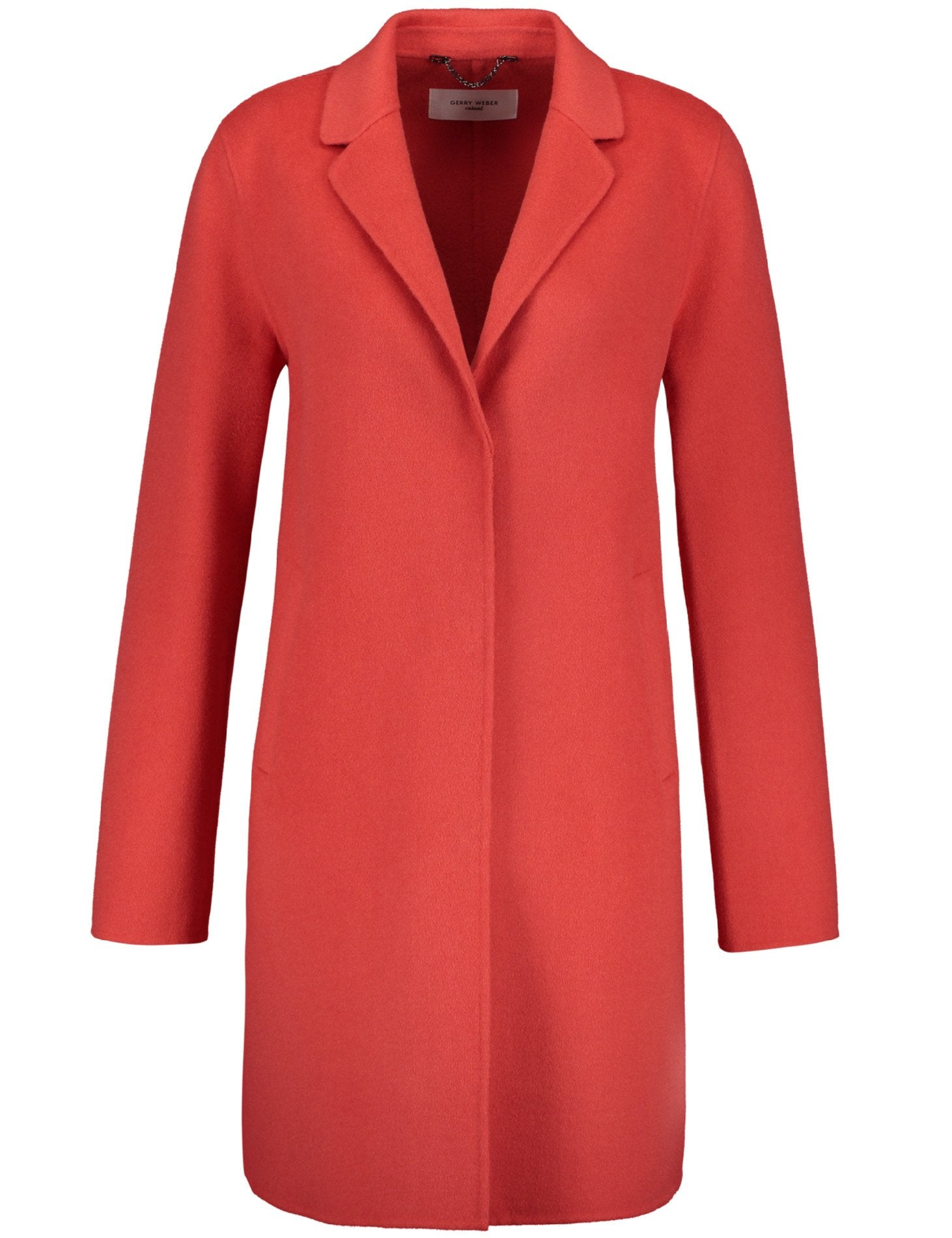 Gerry Weber Wool-rich Coral Coat