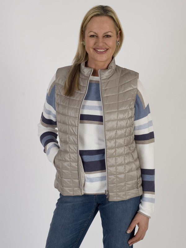 Gerry Weber Silky Quilted Gilet