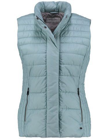 Gerry Weber Mint Green Quilted Gilet
