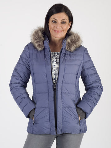 Gerry Weber Blue Lightly Padded Jacket