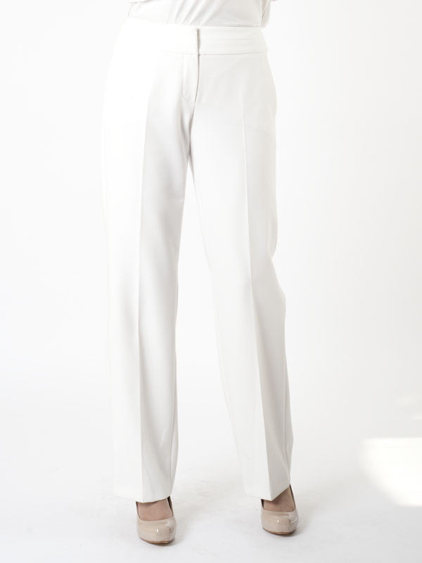 Gerry Weber White Smart Trousers