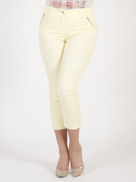 Gerry Weber Lemon Perfect Fit 'Roxy' Crop Trousers