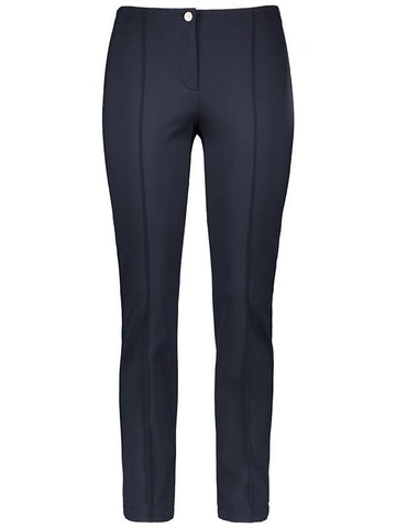 GERRY WEBER Navy Roxanne Fit Stretch Trouser